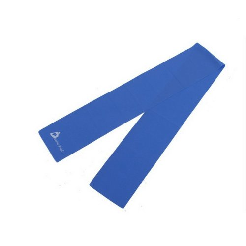 Exercise / Stretch / Resistance Band 5.9''Long Latex Yoga Band (Blue)