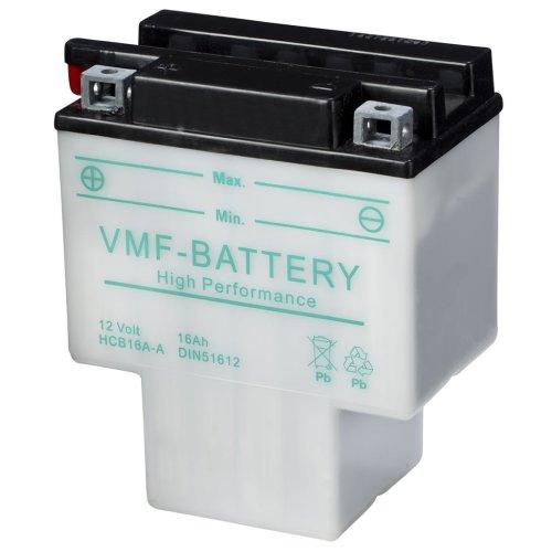 VMF Powersport Battery 12V 16 Ah HCB16A-A Motorcycles Batteries 150x90x179mm