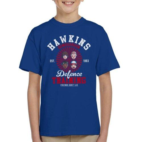 Stranger Things Hawkins Demogorgon Defence Kid's T-Shirt
