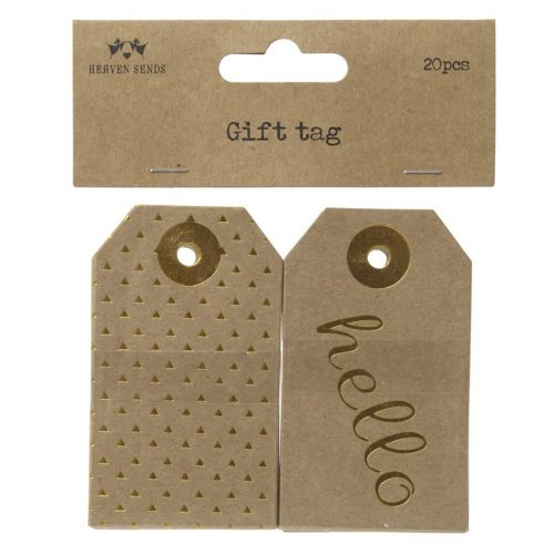 Triangle and Hello Gift Tag Set