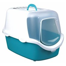 Trixie Vico Easy Clean Cat Litter Tray With Dome, 40 x 40 x 56 Cm, -