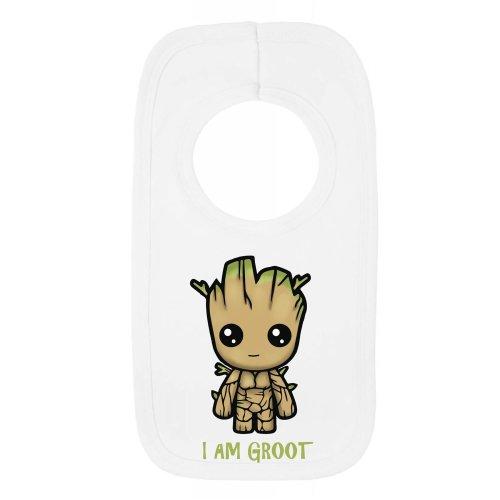 Pull Over Bib - I Am Groot