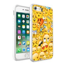 i-Tronixs - Emoji Multi Design Printed Case Skin Cover - 062