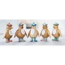 DCUK Natural Baby Emperor Penguin - Tartan Hat & Wellies