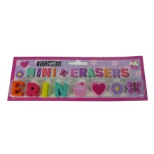 Childrens Mini Erasers - Erin
