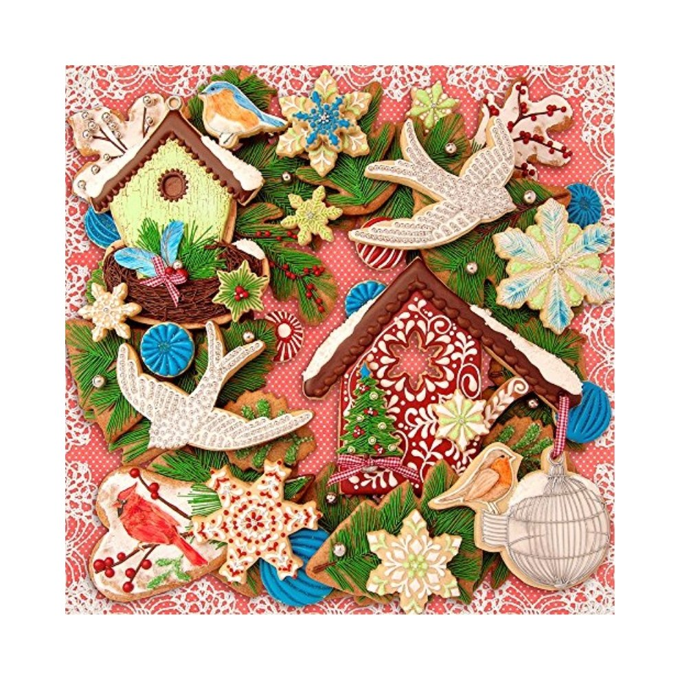 Springbok Puzzles Christmas Creations Jigsaw Puzzle (500