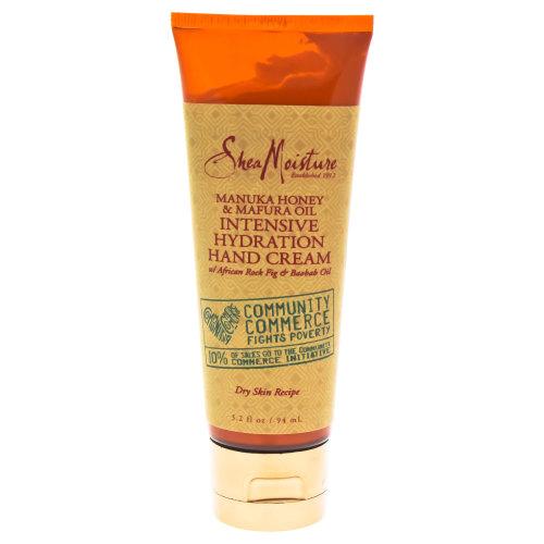 Manuka Honey & Mafura Oil Intensive Hydration Hand Cream - Dry Skin by Shea Moisture for Unisex - 3.2 oz Hand Cream