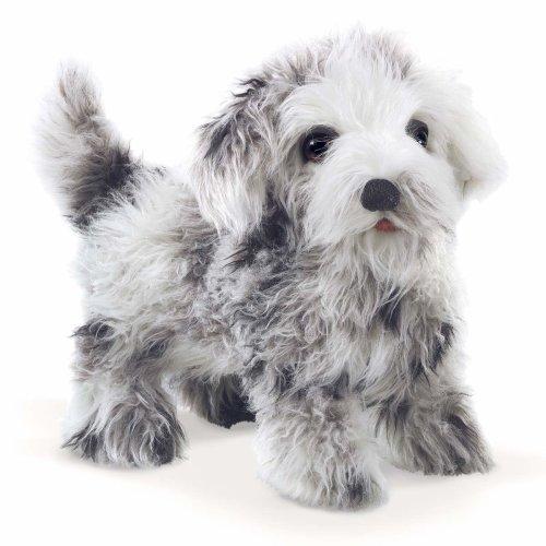 Hand Puppet - Folkmanis - Shih Tzu Puppy New Toys Soft Doll Plush 3143