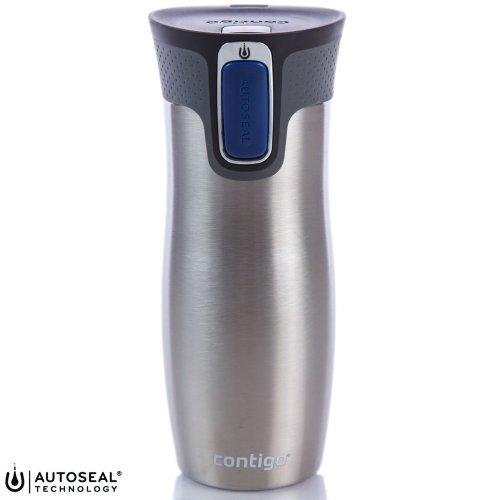 Contigo West Loop Travel Mug AutoSeal Vacuum Insulated Spill-Free Bottle - 470ml