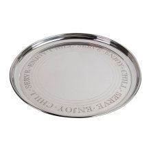 Bombay Serving Tray - Silver