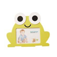 6 inch Creative Cartoon Cute Baby Photo Frame YELLOW Frog Models
