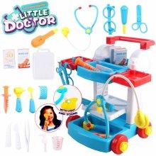 deAO Toys Little Doctor Kids Medical Center Hospital Portable Set