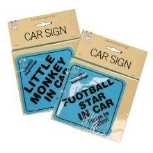 Beautiful Beginnings Blue Car Signs