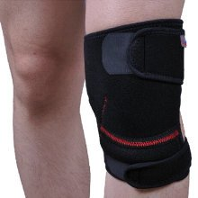 Set of 2 Men Women Sports Knee Pads Adjustable Silicon Knee Protector/Support
