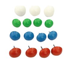 40 PCS Retro Style Drawing Pins Creative Simple Style Pushpins for School,B6