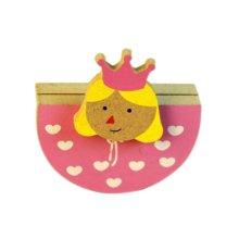 Creative Princess Memo Holder Card/Photo Clip Desk Decor(4 Pieces)