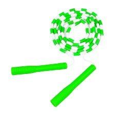 Beading Jump Rope Segmented Skipping Rope Adjustable Jump Rope (Green)