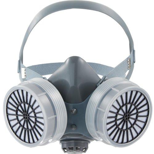 Half face mask - grey
