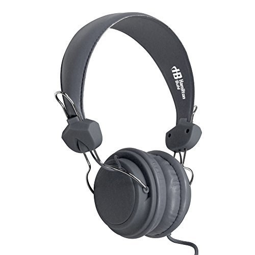 TRRS Headset with InLine Microphone Color: Gray