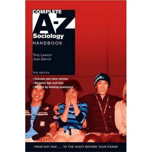 Complete A-Z Sociology Handbook 3rd Edition