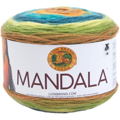 Lion Brand Yarn Mandala-Kraken
