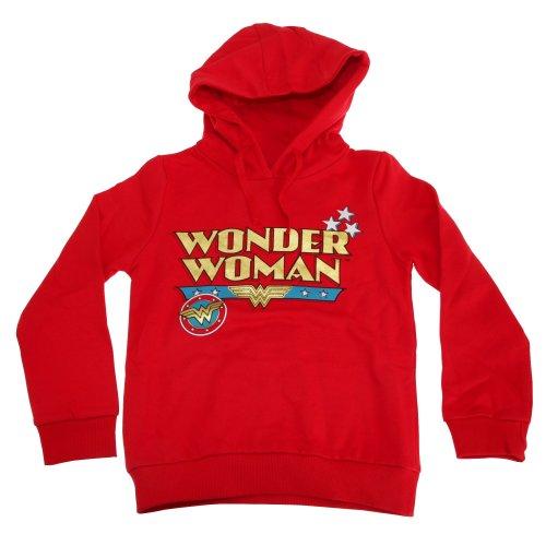 Wonder Woman Childrens Girls Logo Hoodie