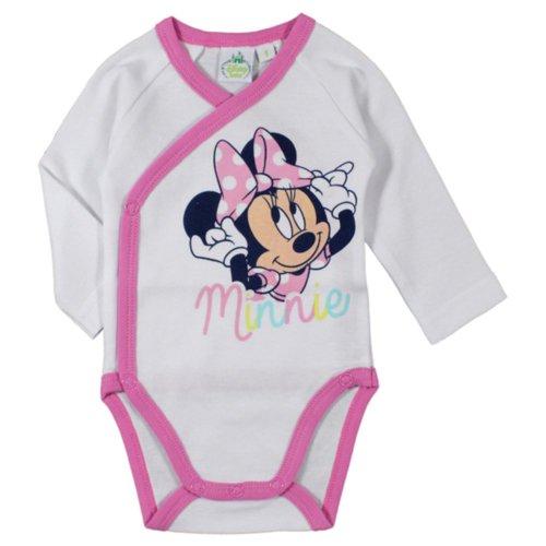 Minnie Mouse Bodysuit - White