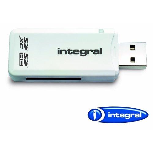 Integral AMINCRSD SD (Secure Digital) Single Slot Reader - White