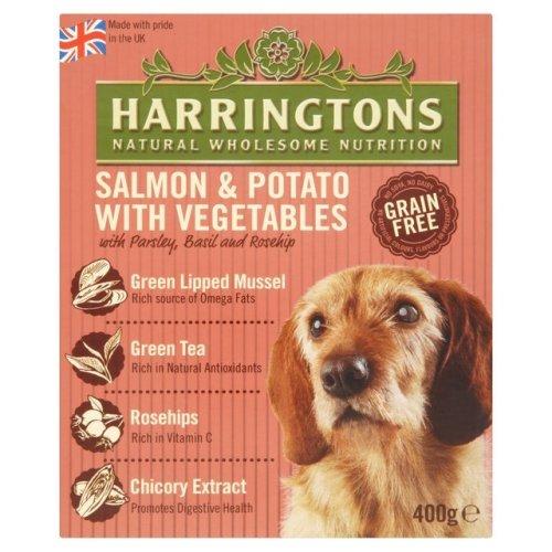 Harringtons Wet Salmon & Potato 400g (Pack of 8)
