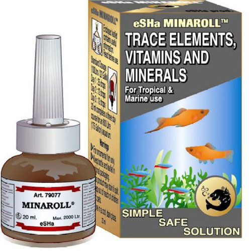 Esha Minaroll Trace Elements, Vitamins and Minerals 20ml