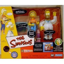 the simpsons - world of springfield interactive mobile home with colonel homer and lurleen lumpkin