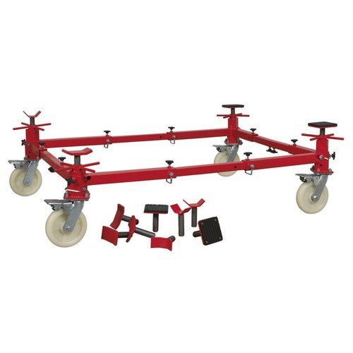 Sealey VMD002 Vehicle Moving Dolly 4 Post 900kg