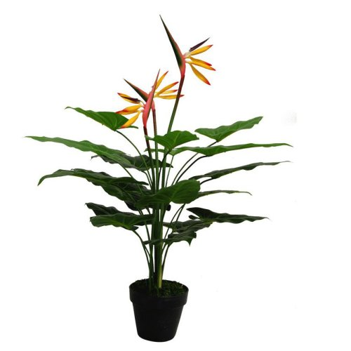 75cm Artificial Bird of Paradise Plant (Strelitzia) - Large