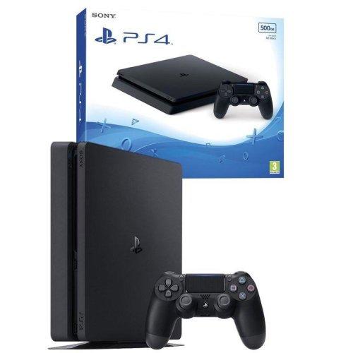 Sony PlayStation 4 500GB PS4 Console - Black