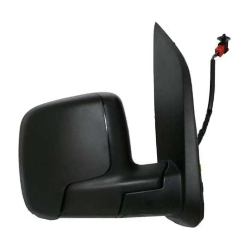 Peugeot Bipper 2008-2015 Electric Wing Door Mirror Black Cover Drivers Side