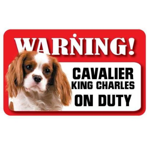 Cavalier King Charles Spaniel Pet Sign
