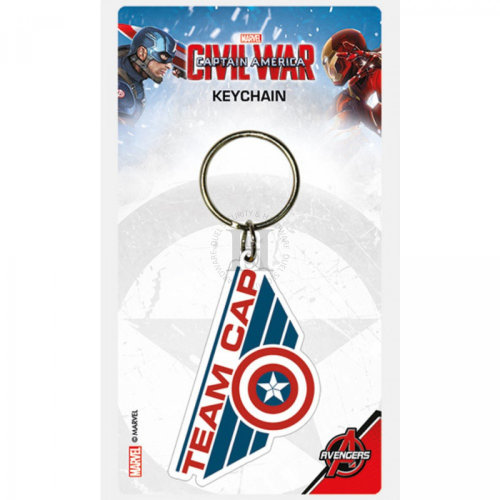 Marvel - Captain America Civil War - Team Cap Keychain