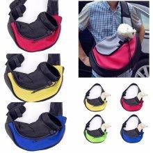 45*13*28cm L Size Pet Dog Cat Carrier Mesh Sling Backpack