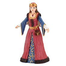 Papo Medieval Queen Figure - Mediaeval Knights Multicolour New -  papo queen figure mediaeval medieval knights multicolour new