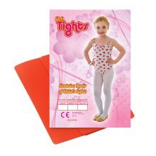 7-10 Years Medium Red Tights -  tights dress fancy red dance child childs accessory girls white green CHILDS TIGHTS RED 7/10 MEDL FASHION ACCESSORY
