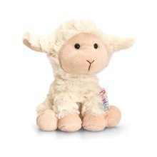 Keel Pippins Woolly the Lamb Soft Toy 14cm