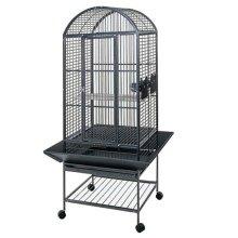 Strong Parrot Cage Villa Minerva Silverstone Grey 46x46x144 cm 93017