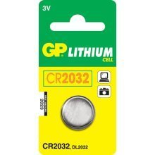 GP Batteries Lithium Cell CR2032 Lithium 3V non-rechargeable battery