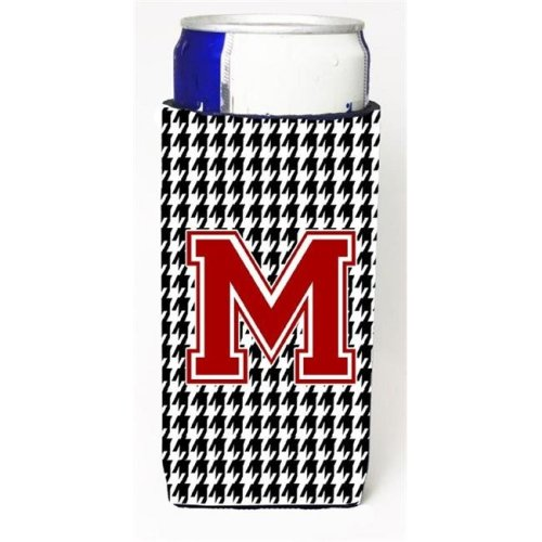 Carolines Treasures CJ1021-MMUK Houndstooth Letter M Michelob Ultra s For Slim Cans