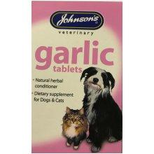 Garlic tablets.