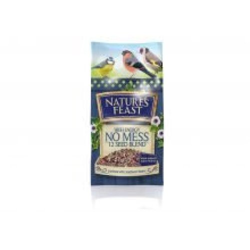 Natures Feast High Energy No Mess 12 Seed Blend (1kg)