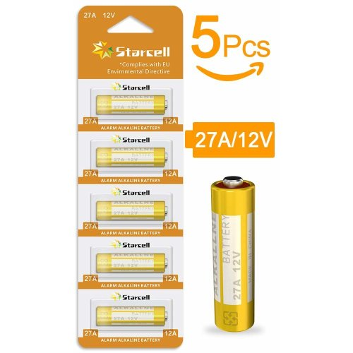Act LR 27A 12 V Plus Alkaline Battery (Pack of 5)