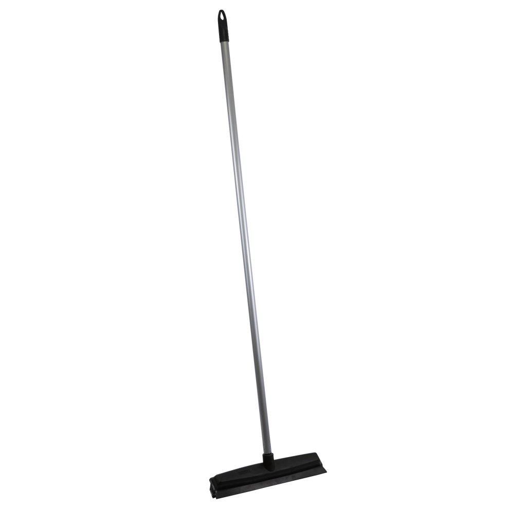 Rubber Broom Pet Hair Remover - Professional Rubber Bristle Brush -  Collects and Removes Hair From Carpets
