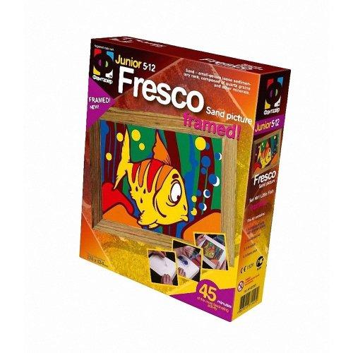Elf407001 - Fantazer - Fresco Sand Picture - Little Fish