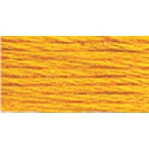 DMC Pearl Cotton Ball Size 8 87yd-Deep Canary